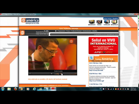 como ver tv por cable en vivo en mi pc windows 7 2011