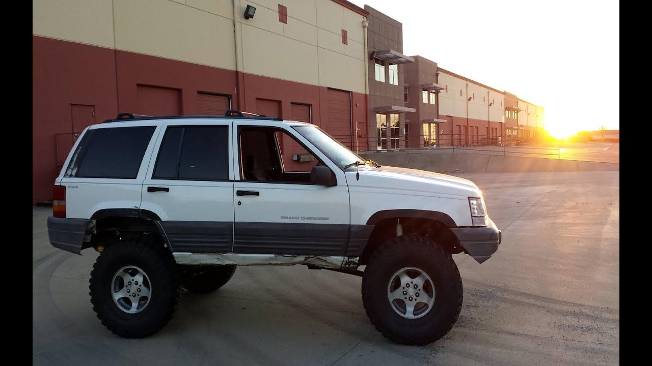 Jeep Grand Cherokee 4x4 Project Zj Part 13 Cut Fenders New