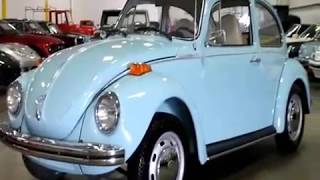 1973 VW Super Beetle Blue