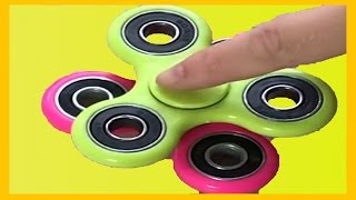 Learn Colors With Fidget Spinners For Kids Hand Spinners Tricks and Tips best fidget spinner family