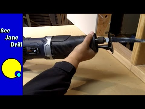 How to Use a Reciprocating Saw to Cut Metal. Wood. PVC. etc for Beginners