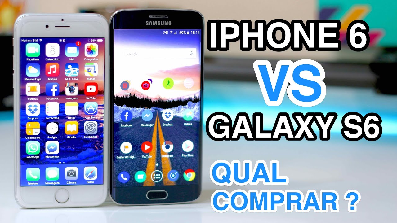 Revistas Iphone 6 Iphone 6 vs Galaxy s6 Edge