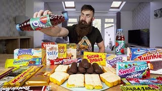 THE 10,000 CALORIE SUBSCRIBER SNACK PACK | BeardMeatsFood