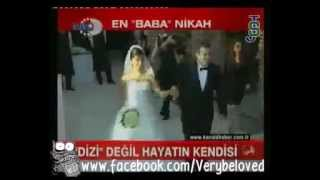 kivanc tatlitug & beren in kanal d haber2011 At a wedding.