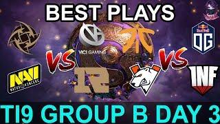 TI9 HIGHLIGHTS Group B DAY 3 PART 2 (The International 9) Dota 2 by Time 2 Dota #dota2 #ti9