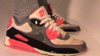 nike air max 90 infrared wet
