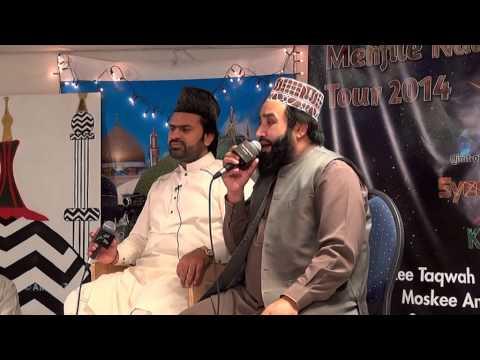 Syed Zabeeb Masood Shah & Khalid Hasnain Khalid Masjid Al-raza Almere video