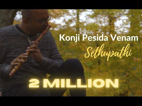 Konji Pesida Venam | Sethupathi | Instrumental by FLUTE SIVA