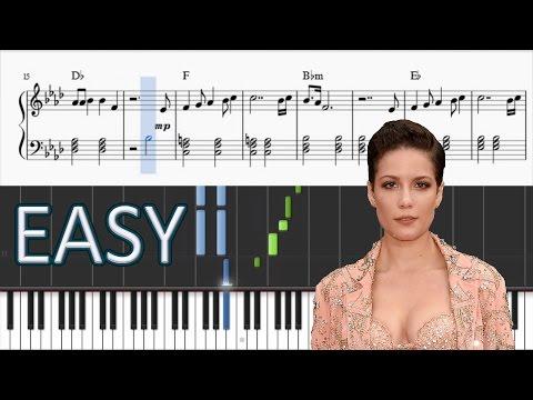 Halsey - Not Afraid Anymore (Fifty Shades Darker) - EASY Piano Tutorial + SHEETS