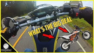 I Don't Care About The New 2019 KTM 690 SMCR | Husqvarna Motorcycles History