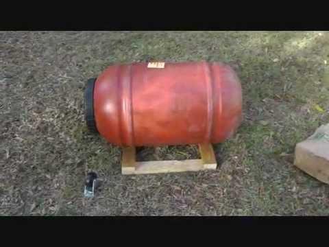 The 5 Dollar DIY Compost Tumbler