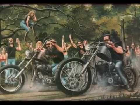Biker Brotherhood With David Mann Art Youtube