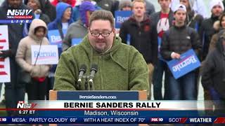 HEALTHCARE FOR ALL: Bernie Sanders Supporter Says He Needs Healthcare