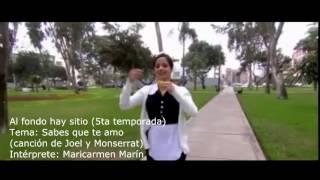 Sabes que te amo - Maricarmen Marín (canción de Joel y Monserrat) videoclip OFICIAL