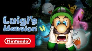 Luigi's Mansion - Launch Trailer (Nintendo 3DS)