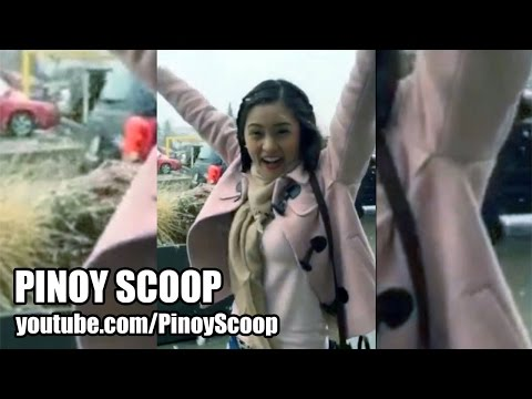 Kim Chiu's Funny And Dramatic First Time Snow Experience In Canada video