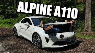 Alpine A110 - Quirky Cayman Rival (ENG) - Test Drive and Review