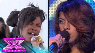Boot Camp 2: Diamond White vs. Dinah Jane Hansen - THE X FACTOR USA 2012