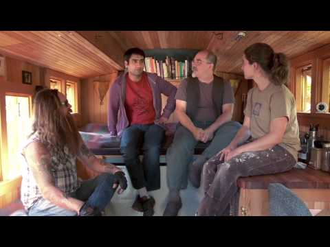 Kumail Tours Portlandia - Tiny House