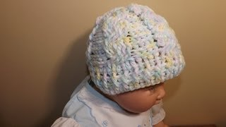 Download Crochet Cable Baby Hat 3Gp Mp4