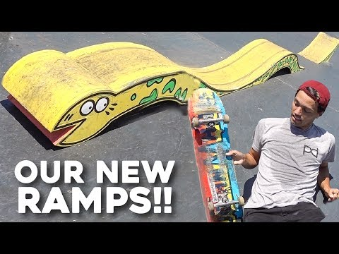 MOUNTAIN DEW GAVE US THEIR RAMPS!!!