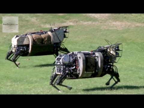 AlphaDog, U.S. Marines Robot Pack Animal - Legged Squad Support System | AiirSource