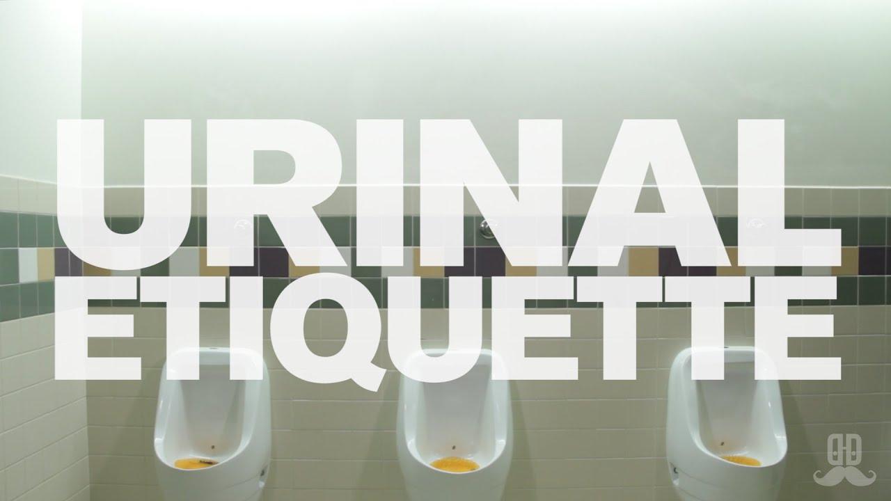 [Urinal Etiquette] Video
