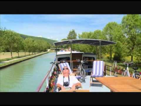 A tour of a luxury barge of France