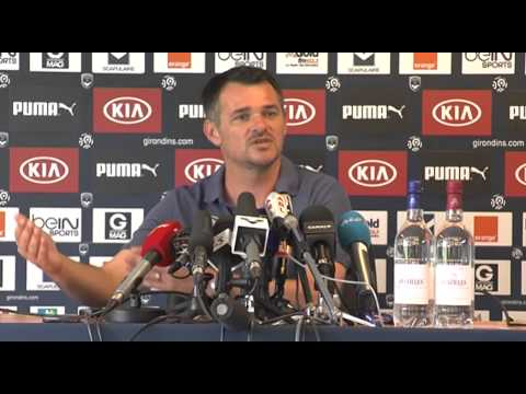Point Presse de Willy Sagnol avant Bastia