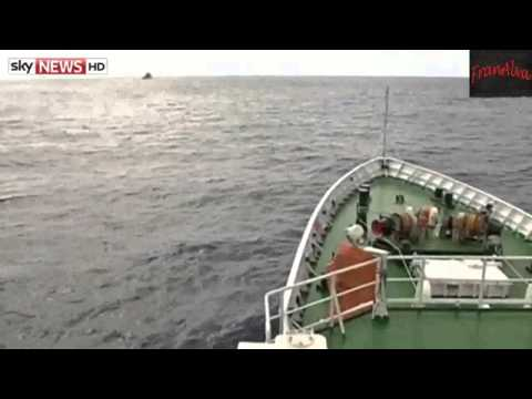 Malaysia Airlines Missing Flight MH370  Ship Detects Signal In Ocean   05 April 2014