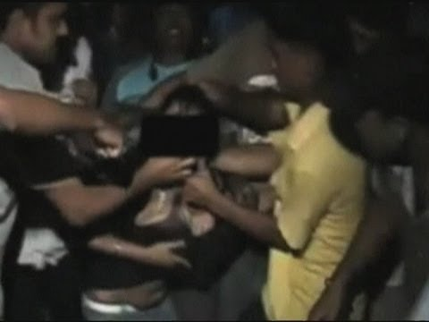 Horrifying footage: Girl molested by gang in India thumbnail