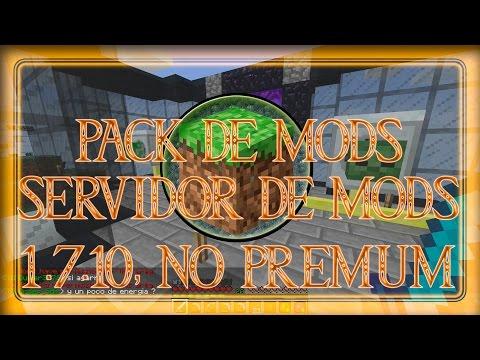 Minecraft - ¡Pack de MODS + SERVIDOR DE MODS! 1.7.10. NO PREMIUM. ¡PARA TODOS! ^^