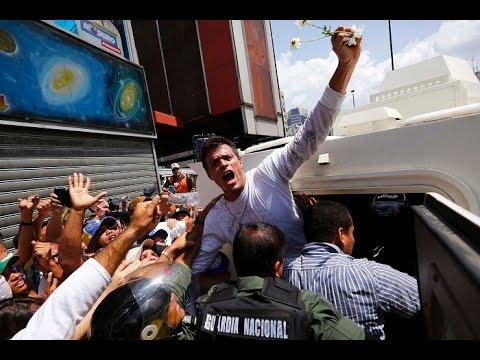 Jailed Venezuelan Leader Starts Hunger Strike