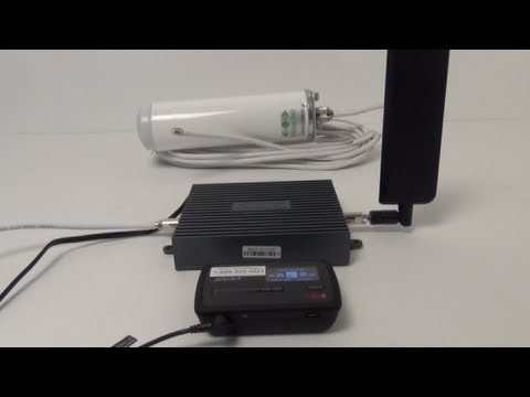 4g Lte Amplifier And Paddle Antenna Youtube
