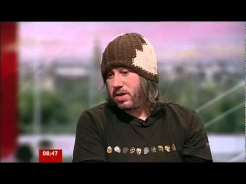 Badly Drawn Boy BBC Breakfast 4th October 2010