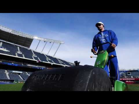 John Deere Sports Turf Stores: Kauffman Stadium Reel Mowers