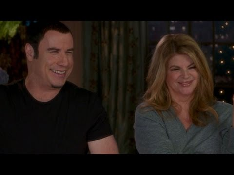 'Look Who's Talking' Reunion: John Travolta, Kirstie Alley Reunite on Set, Recall First Kiss Scene