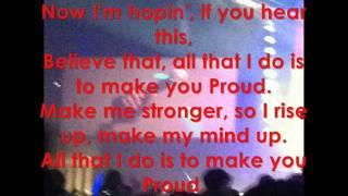 JLS - Proud Lyrics