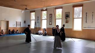 Kyudo demonstration at the Santa Cruz Japanese Cultural Fair