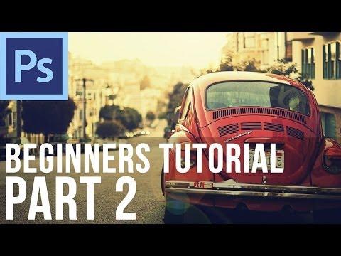 Adobe Photoshop CS6 for Beginners Tutorial (Part 2)
