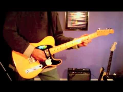 Blues - Killer Fender Hot Rod Telecaster - Hot Instrumental Slow Blues Guitar Solo Music Videos