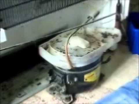 Reparação de Frigorificos Bosh Assistência Técnica Parte 1 de 2.wmv
