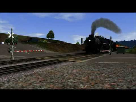 Railworks 3: A Day by the Railroad Crossing [HD]