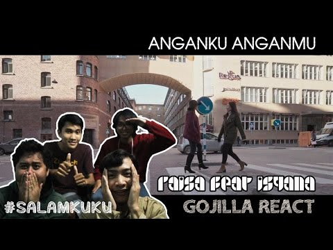 RAISA Feat ISYANA - ANGANKU ANGANMU MV REACTION
