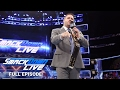 WWE SmackDown LIVE Full Episode, 11 April 2017
