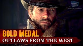 Red Dead Redemption 2 - Intro & Mission #1 - Outlaws from the West [Gold Medal]