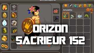 Orizon Sacrieur 152 : Présentation Nouveau Perso