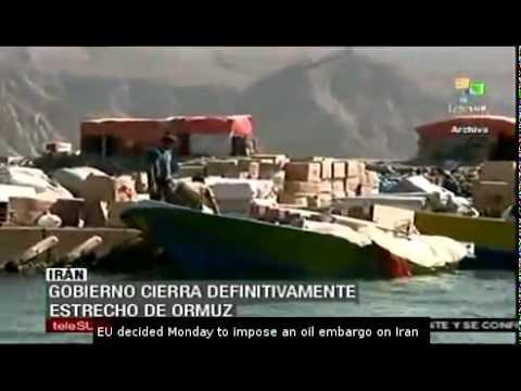 Iran definitely closes Strait of Hormuz