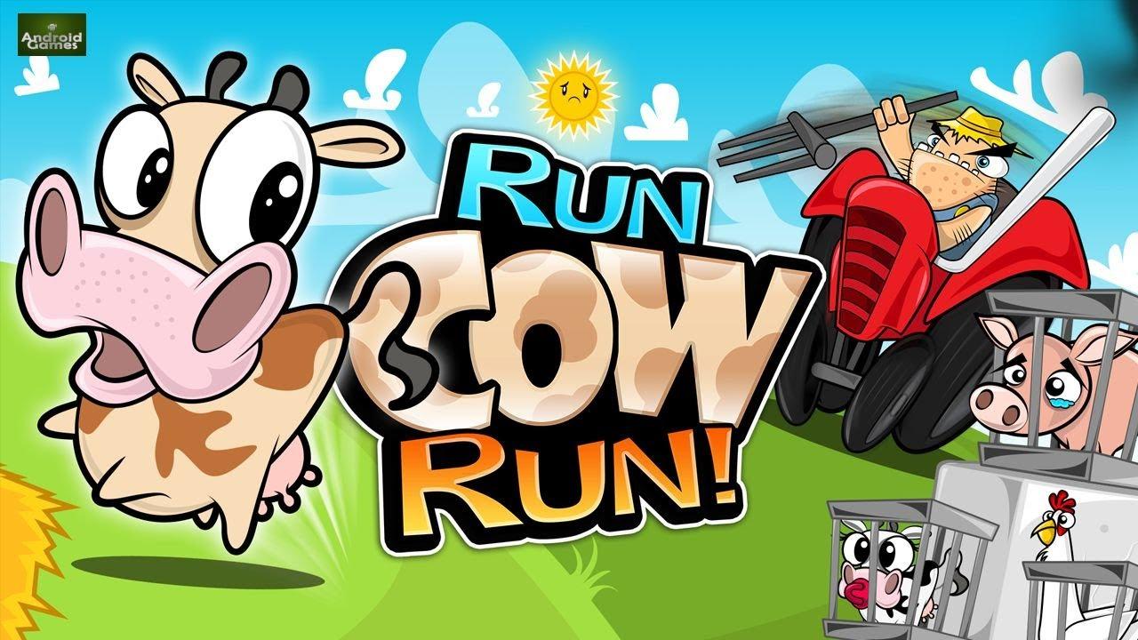 Cows Running Run Cow Run Preview hd 720p
