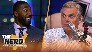 Greg Jennings joins Colin to discuss SBLIII & Tom Brady playing 'conservative' | NFL | THE HERD